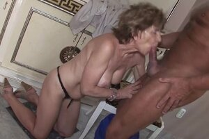 grany blow anal drilling pounded